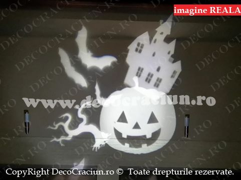 proiector led exterior motive halloween starshower motion