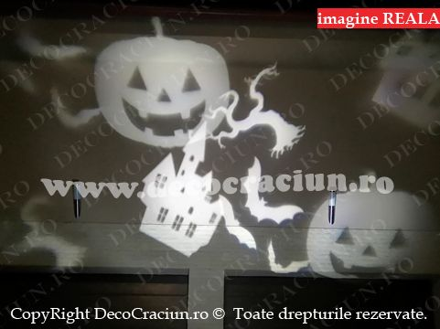 proiector halloween de exterior lumini decorative motive halloween